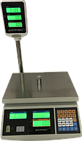 Ваги з ЖК екраном електронні ВТД-ЕД, 6 кг