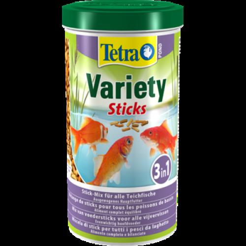 Tetra Pond Variety Sticks – кормовая смесь из палочек 1 л