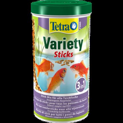 Tetra Pond Variety Sticks – кормовая смесь из палочек 1 л, фото 2