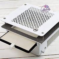 Teri 500 встраиваемая маникюрная вытяжка с HEPA фильтром (сетка белый пластик)