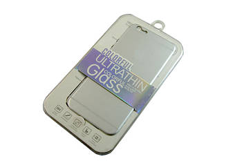 Наклейка на обратную сторону iphone 6 -- СЕРЕБРО D100