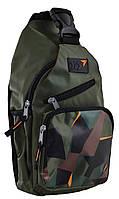 Рюкзак на одной лямке YES 557159 Hunter