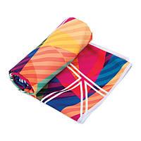 Охолоджувальне пляжне/спортивне рушник Spokey Malaga 80х160 (original), для спортзалу, швидковисихаючий, фото 1