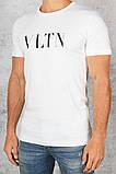 Футболка мужская Valentino D7155 белая, фото 2