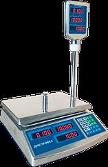 Весы в магазин электронные, 15 кг ВТД-ЕЛС(F902H-15EDS)