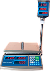 Весы в магазин электронные, 6 кг ВТД-ЕЛС(F902H-6EDS), фото 2