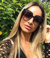 Женские  солнцезащитные очки  копия Celine  2020 черные