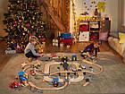 Набор пожарная станция для деревянной железной дороги PlayTive Junior (50 элементов) Германия, фото 9