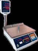 Електронні ваги торгові зі стійкою ВТД-ЕД, 6 кг, фото 1