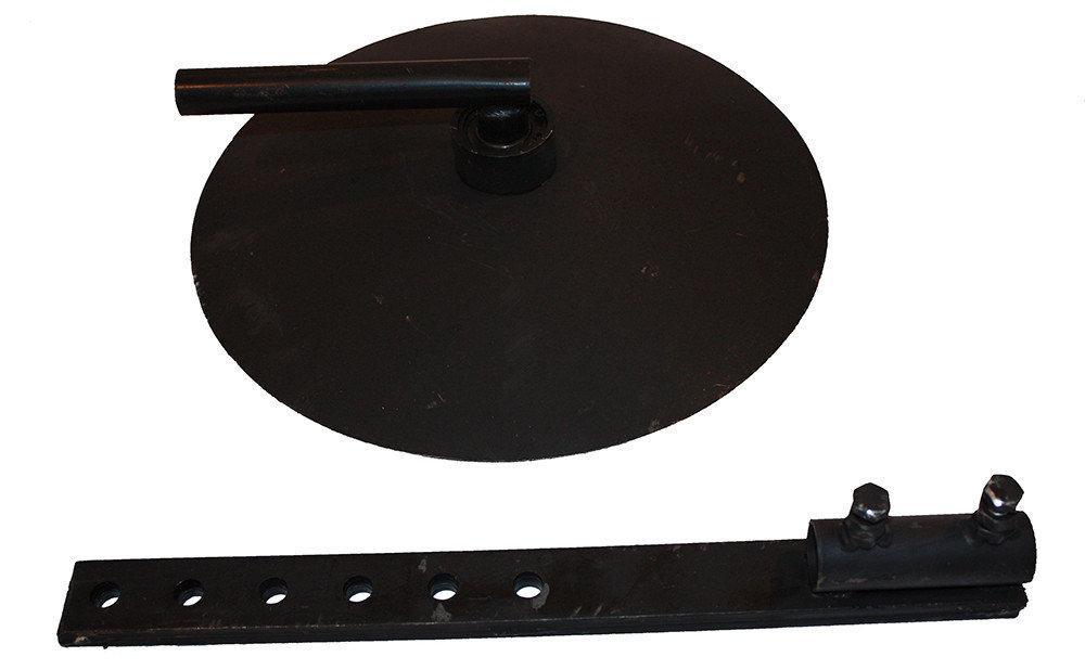 Окучник дисковый для мотоблока (комплект из двух дисков D=390 мм)