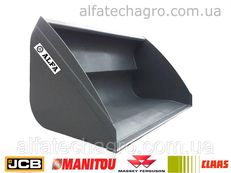 Ковши для навантажувачів Manitou, JCB, САТ, Bobсat, NewHolland, Claas, Merlo, Dieci, Faresin