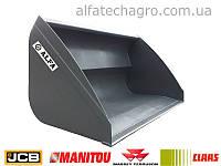 Ковши для навантажувачів Manitou, JCB, САТ, Bobсat, NewHolland, Claas, Merlo, Dieci, Faresin, фото 1