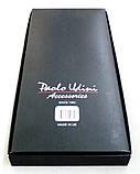 Серые мужские подтяжки Paolo Udini в подарочной упаковке, фото 4