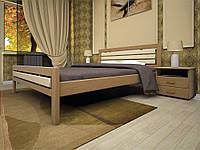Ліжко з натурального дерева МОДЕРН 1