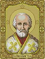 Набор для вышивания крестиком Святой Николай Чудотворец. Размер: 20*26,5 см