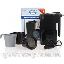 Автомобильный чайник кофеварка  ALCA 400 мл 12V  ALCA 542120   мощность 120Вт с чашками