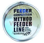 Методная тонущая фидернаялеска Carp Zoom Method Feeder Line 150m