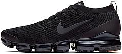 Мужские кроссовки Nike Air Vapormax Flyknit 3 Black/Anthracite/White/Metallic Silver
