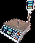 Весы торговые, 30 кг ВТД-Т2, РК дисплей, фото 2