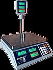 Весы торговые, 30 кг ВТД-Т2, РК дисплей, фото 3