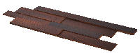 Brick Ясень Thermo Wood