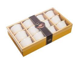 Набір з 12 кавових чашок 50 мл у подарунковій коробці MUG-242