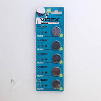 Батарейка - таблетка литиевая Videx CR2025 блистер 5шт, 3V, Lithium, батарейка Videx, Батарея, батареи и аккумуляторы, батарея