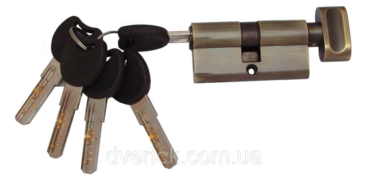 Цилиндровый механизм USK ZC-60 (30x30) ключ/поворотник