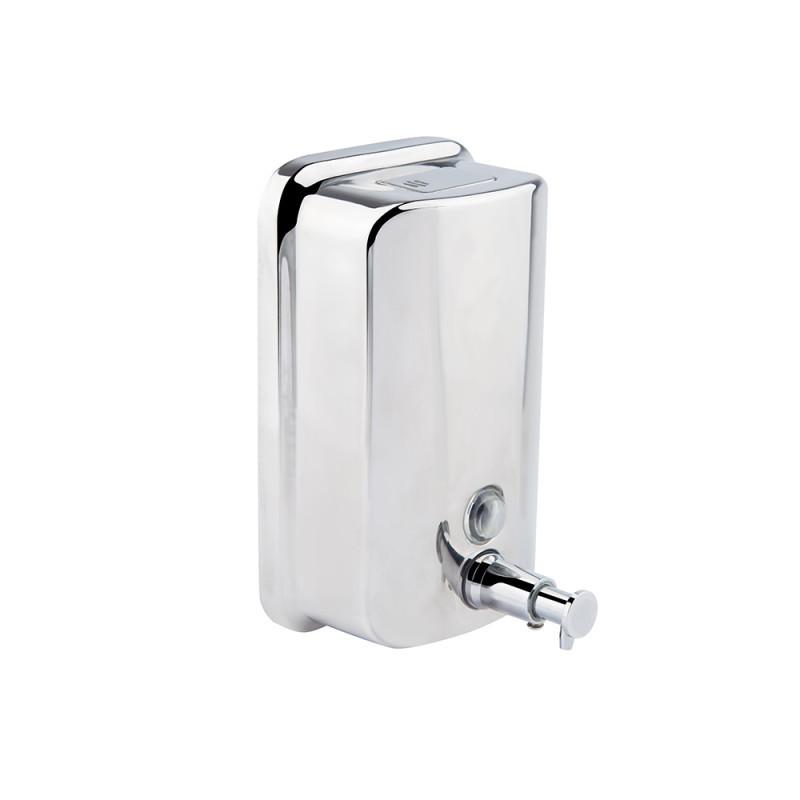 Дозатор жидкого мыла настенный Potato P405-8 (хром) 800 мл
