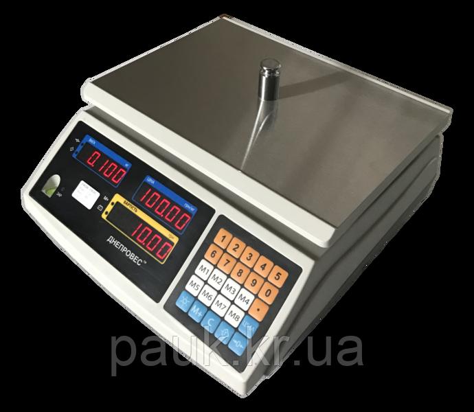 Ваги торгові без стійки, 3 кг ВТД-ЕЛ1(F902H-3ED1)