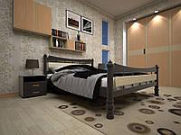Ліжко з натурального дерева МОДЕРН 4140*200
