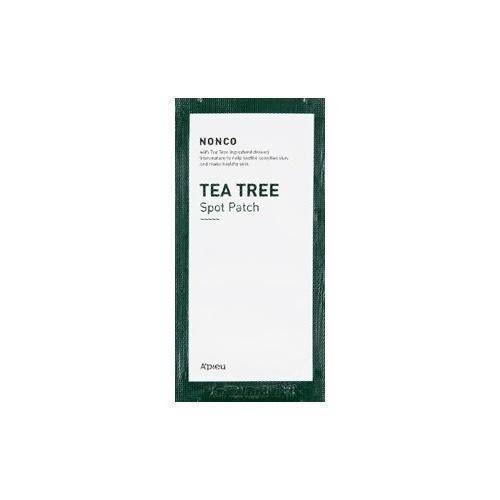 Точечные патчи ночного действия с экстрактом чайного дерева A'Pieu Nonco Tea Tree Spot Patch Night Care