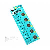 Батарейка - таблетка литиевая Videx CR1632 блистер 5шт, 3V, Lithium, батарейка Videx, Батарея, батареи и аккумуляторы, батарея