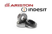 ПодшипникиSKF 202, SKF 203 и сальник 22x40x8.5/11.5 WLKдля стиральной машины Indesit/Ariston