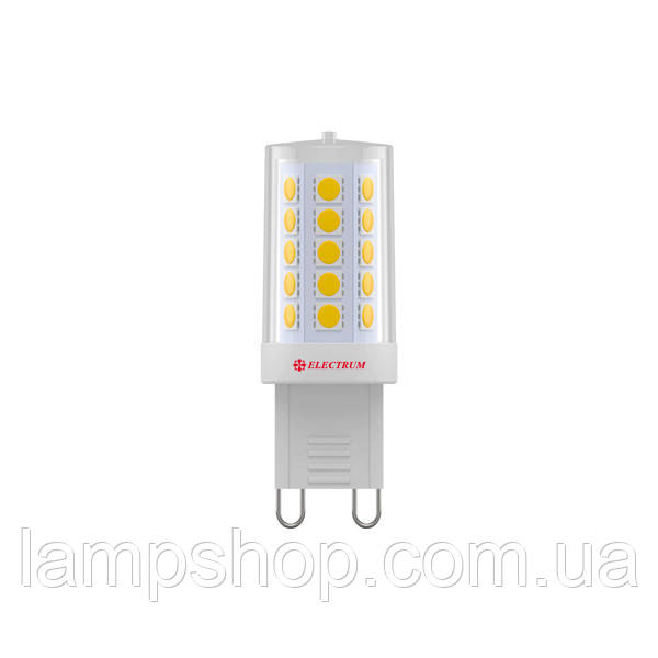Лампа светодиодная капсула LC-15 4W G9 3000K керам. корп. A-LC-1895
