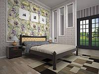 Ліжко з натурального дерева МОДЕРН 7120*200