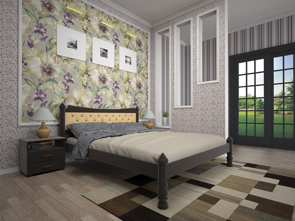 Ліжко з натурального дерева МОДЕРН 7140*200