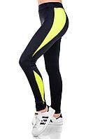 Женские спортивные леггинсы лимон, фото 1