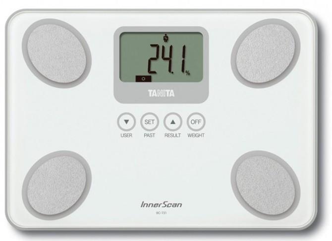 Смарт-ваги / Аналізатор складу тіла Tanita BC-731 White