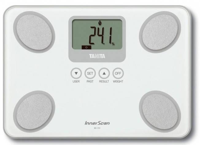 Смарт-ваги / Аналізатор складу тіла Tanita BC-731 White, фото 2