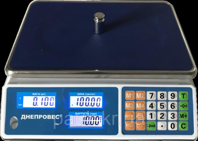 Торгові електронні ваги, 15кг ВТД-Л1(F902H-15L1)