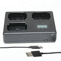 Зарядное устройство Alitek LCD USB для трех аккумуляторов Canon LP-E8