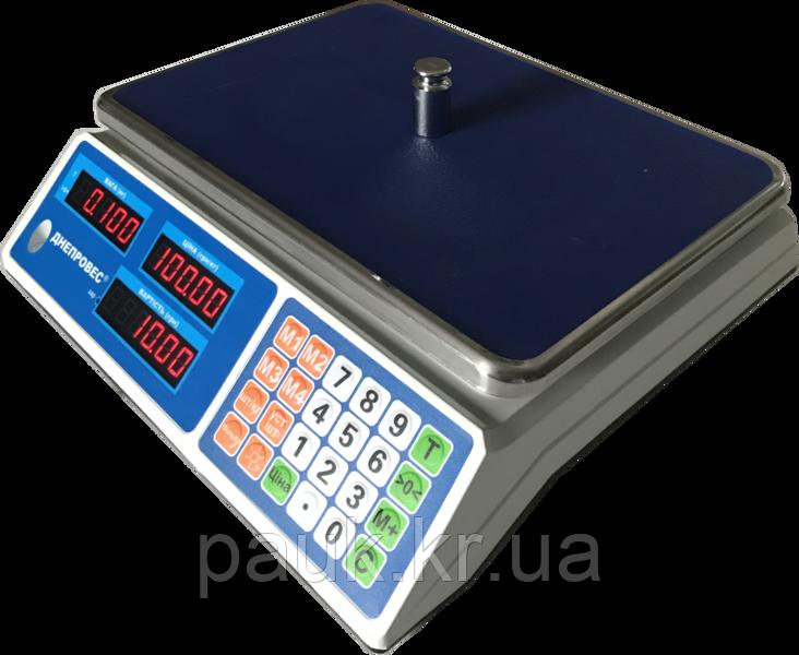 Електронні ваги для торгівлі, 15кг ВТД-Л2(F902H-15L2)