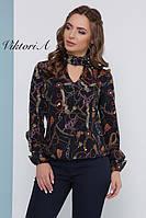 Модная блузочка свободного кроя