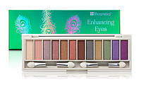 Палетка теней 12 цветов Enhancing Green Eyes BH Cosmetics Оригинал