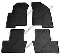 Резиновые коврики в салон Dodge Caliber 2006-2012, 4шт. (Stingray)