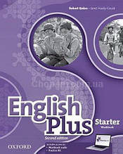 English Plus Second Edition Starter Workbook with access to Practice Kit / Рабочая тетрадь