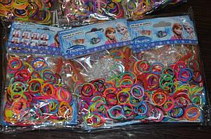 Резиночки для плетения браслетов + инструмент,. Rainbow loom bands