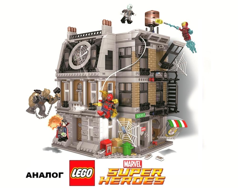 Конструктор JVToy 14009 Бесконечная война 1072 деталь (аналог Lego Super Heroes лего), фото 1
