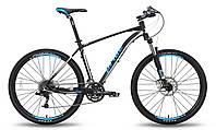 """Велосипед 27,5"""" PRIDE XC-650 RL рама - 21"""" черно-белый матовый 2015"""